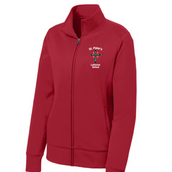 LST241 - S234-E001 - EMB - Ladies Full Zip Jacket