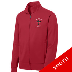 YST241 - S234-E001 - EMB - Youth Full Zip Jacket