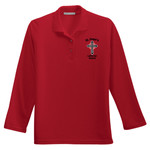 L500LS - S234-E001 - EMB - Ladies Long Sleeve Easy Care Polo